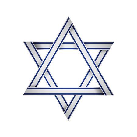 judea: star of david icon vector illustration graphic design