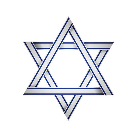 star of david icon vector illustration graphic design