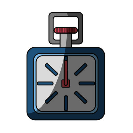 finishing: isolated sport chronometer icon vector illustration graphic design