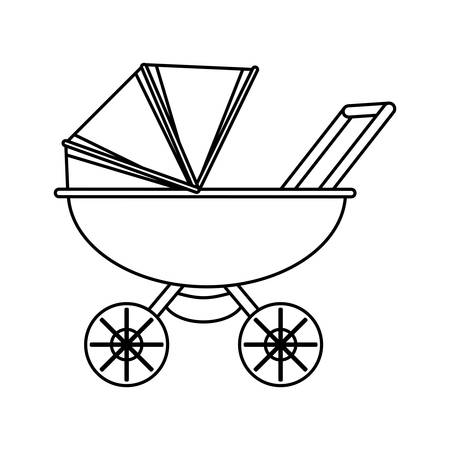 baby carriage cartoon