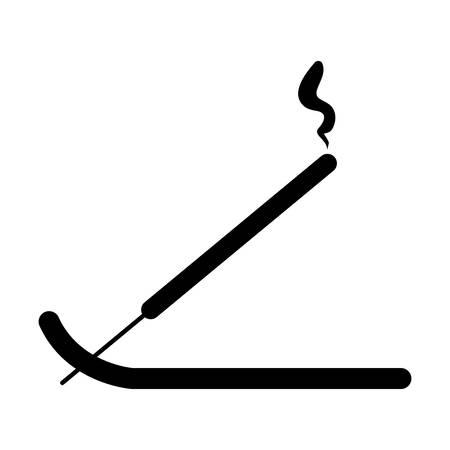 Incense stick icon icon vector illustration graphic design