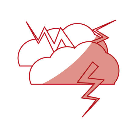 bad news: Rainy bad weather icon vector illustration graphic design Illustration