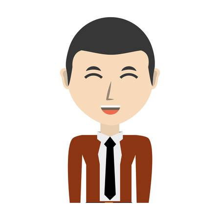 Young man cartoon icon vector illustrationgraphic design