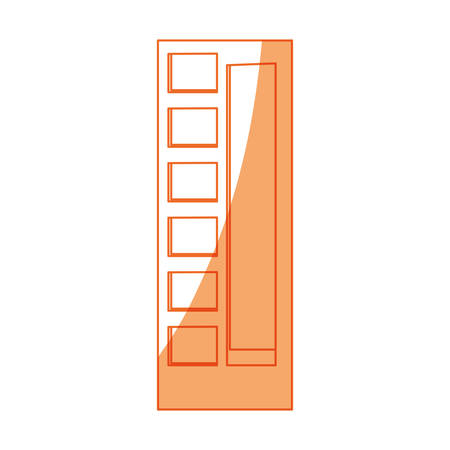districts: isolated building tower icon vector illustration graphic design