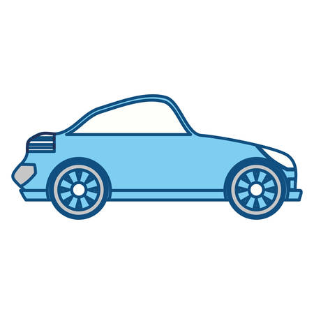 isolated sport car icon vector illustration graphic design