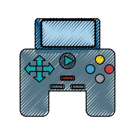 isolated game control icon vector illustration graphic design Reklamní fotografie - 81006492