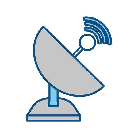 isolated web antenna icon vector illustration graphic design