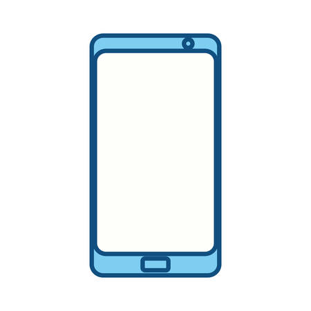using smart phone: isolated smartphone cellphone icon vector illustration graphic design