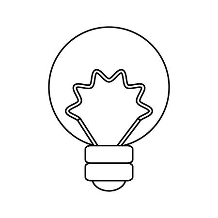 halogen: isolated energy bulb icon vector illustration graphic design Illustration