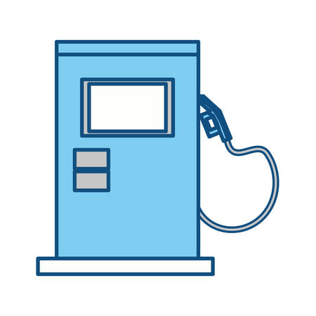 isolated gas station machine icon vector illustration graphic design Illustration