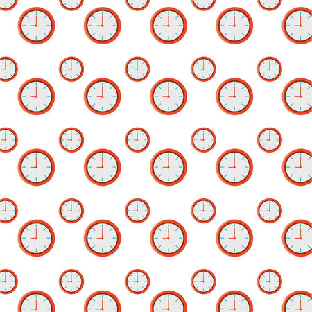 isolated round clock background icon vector illustration graphic design