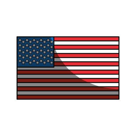 united states flag symbol icon vector illustration graphic design rh 123rf com us flag graphics or clip art us flag graphic to scale
