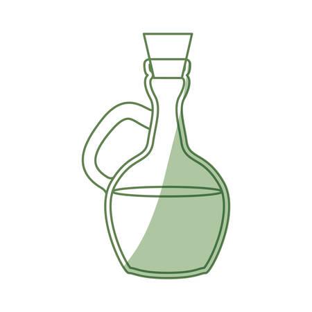 pitcher honey cartoon icon vector illustration graphic design