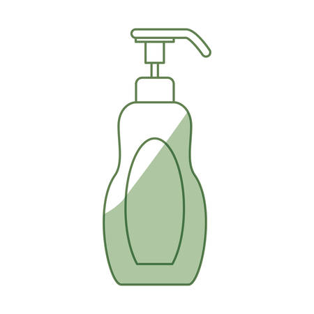 creme: Spa cream bottle icon vector illustration graphic design