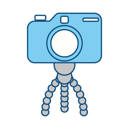 Professional Photographic camera icon vector illustration graphic design