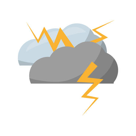 humid: Rainy bad weather icon vector illustration graphic design Illustration