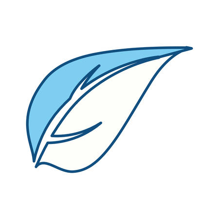 indication: Leaf ecology symbol icon vector illustration graphic design