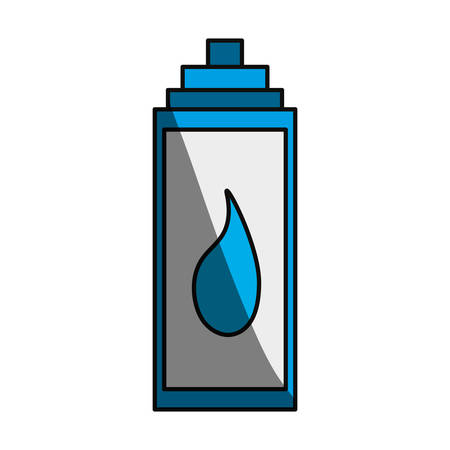 thirsty: Water thermo bottle icon vector illustration graphic design
