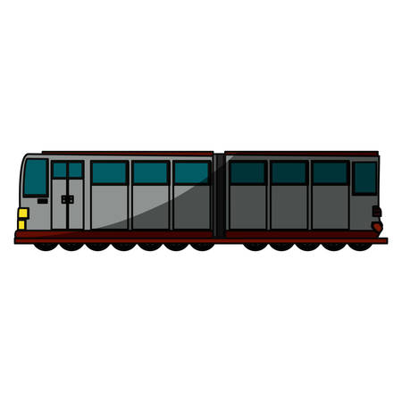 shadowed: Train transport isolated icon vector illustration graphic design