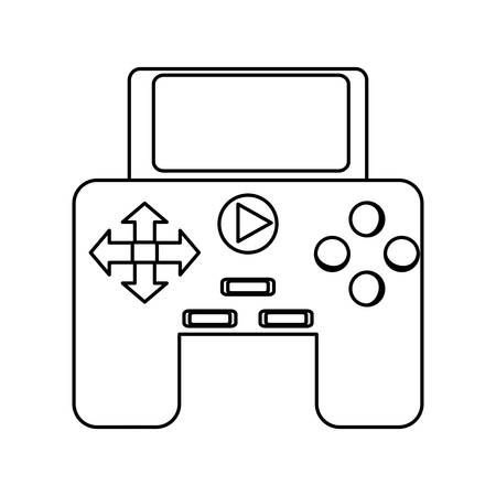 joy pad: isolated game control icon vector illustration graphic design