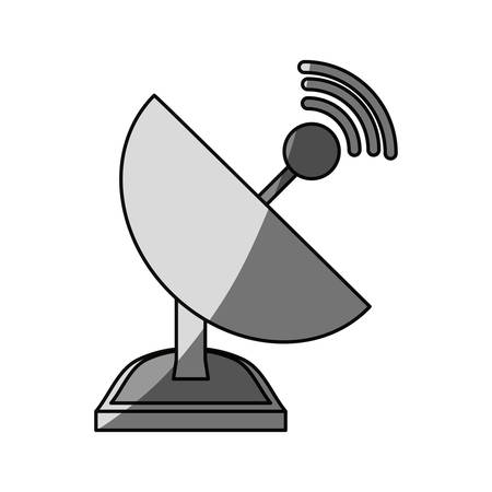 Isolated web antenna icon vector illustration graphic design