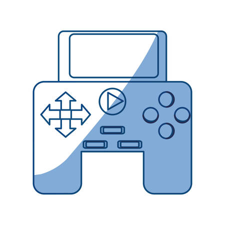 gamepad: Isolated game control icon vector illustration graphic design