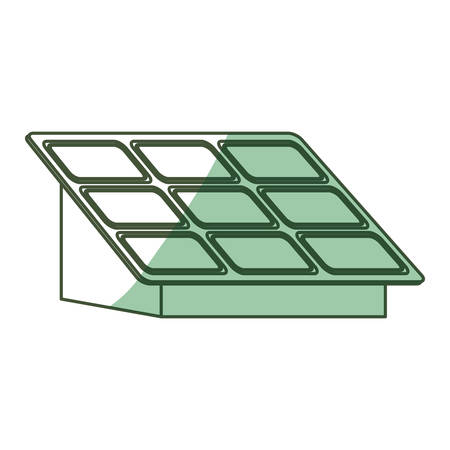 Isolated solar panel icon vector illustration graphic design