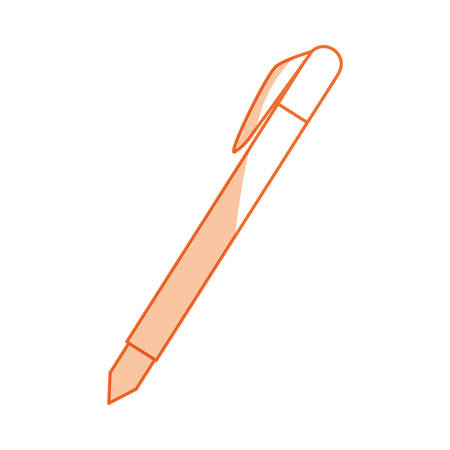 pen and marker: isolated study pen icon vector illustration graphic design
