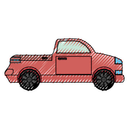 Pick up vehicle icon vector illustration graphic design Illustration