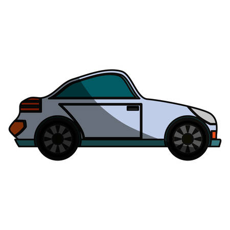 Sport car isolated icon vector illustration graphic design