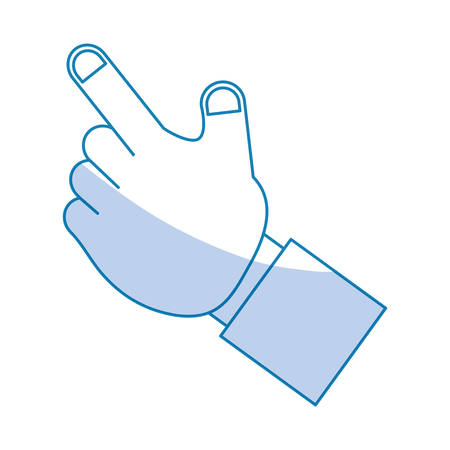 shadowed: Hand pointing up icon vector illustration graphic design