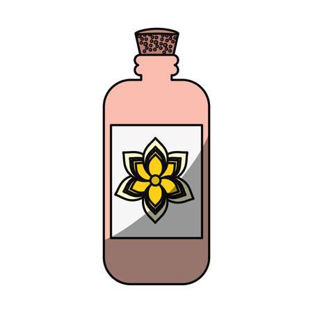 Cream bottle isolated icon vector illustration graphic design Illustration