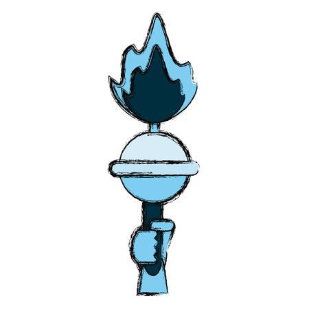 ny: Statue of liberty icon vector illustration graphic design