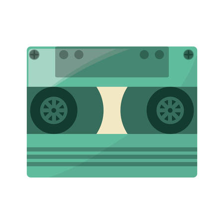 Old vhs format icon vector illustration graphic design