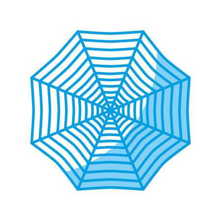 spider web icon over white background vector illustration