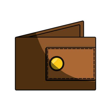 change purse: Money wallet isolated icon vector illustration graphic design Illustration