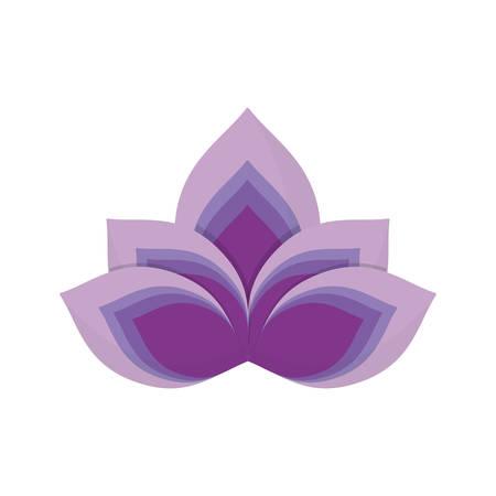 Lotus flower symbol icon vector illustration graphic design