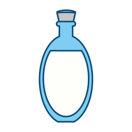 masseur: Spa oil massage icon vector illustration graphic design
