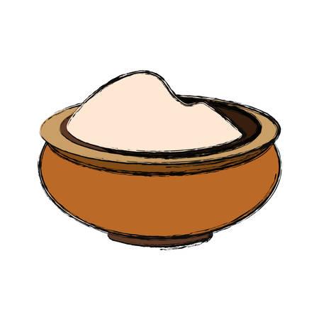 Massage cream spa icon vector illustration graphic design Illustration