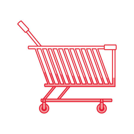 retailers: Shopping cart isolated icon vector illustration graphic design