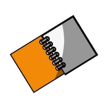 shadowed: School note book icon vector illustration graphic design Illustration
