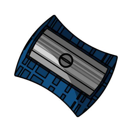 Sacapuntas aislado icono ilustración vectorial diseño gráfico