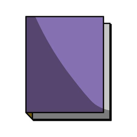 shadowed: School notebook icon vector illustration graphic design