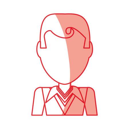 Retro Man cartoon icon vector illustration graphic design Illustration