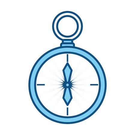 Compass background concept icon vector  illustration design