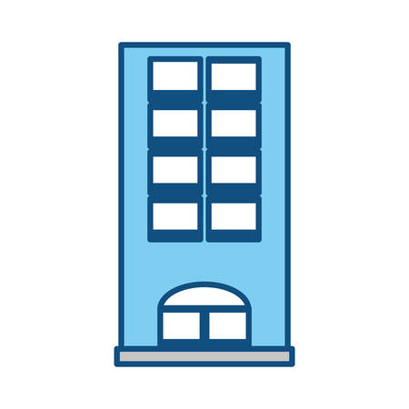 Tower building isolated icon vector  illustration design Ilustracja