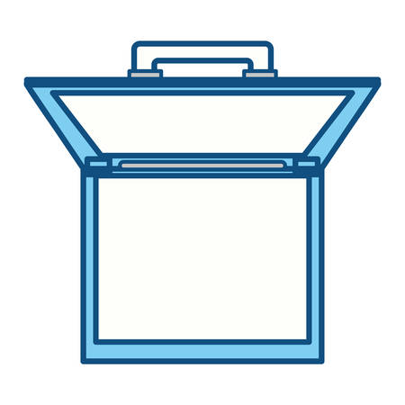 Vintage travel suitcase icon vector  illustration design