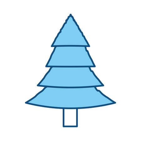 Tree pine isolated icon vector illustration graphic design