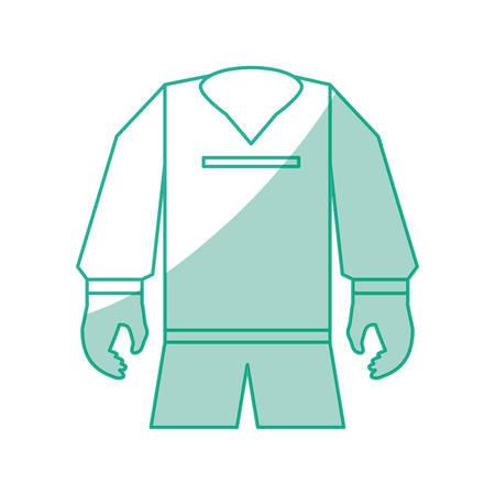 Ontwerp van de het pictogram het vectorillustratie van de voetbalsport grafische ontwerp