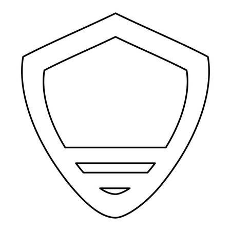 quality guarantee: Badge insignia isolated icon vector illustration graphic design